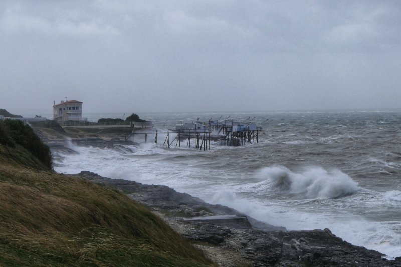 Sturm am Atlantik